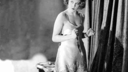 Still from the film Blackmail