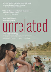 Poster promoting the film Unrelated by British director Joanna Hogg.