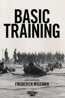 "DVD cover image of Frederick Wiseman's 1971 documentary ""Basic Training"""
