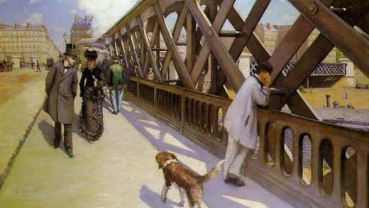 Gustave Caillebotte, Le Pont de l'Europe (1876)