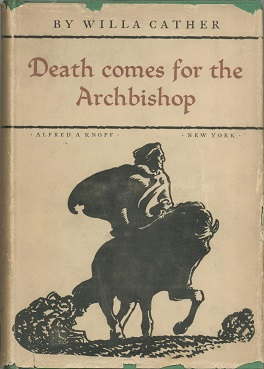 Early Knopf edition of Death Comes for the Archbishop