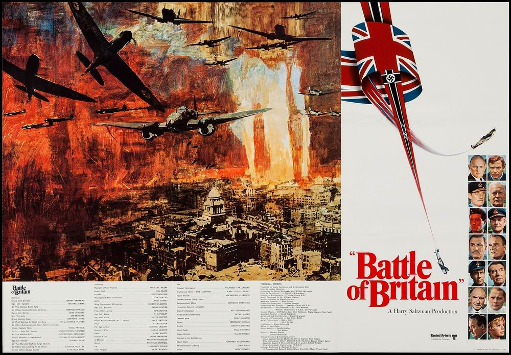 Poster art of the 1969 film The Battle of Britain