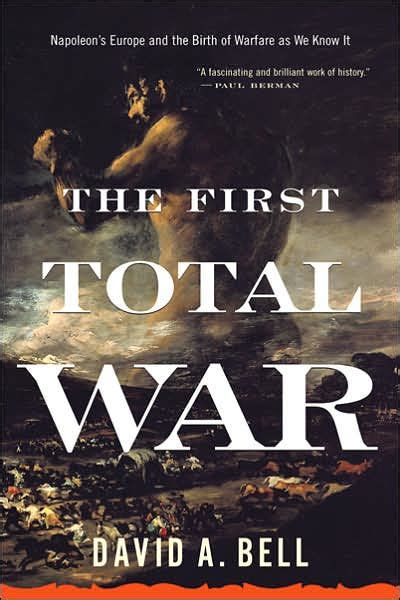Cover of David Bell's The First Total War