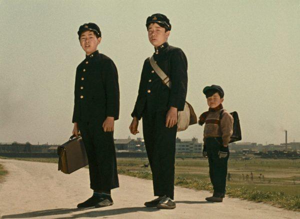 Still from Yasujiro Ozu's Good Morning (1958)