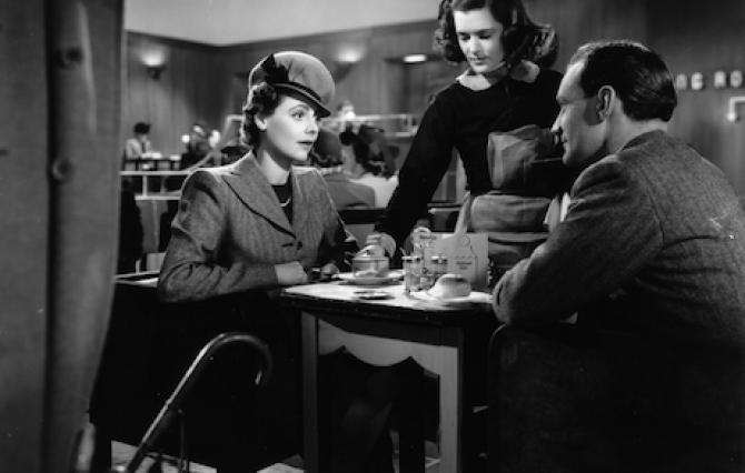 Still from David Lean's 1945 film Brief Encounter