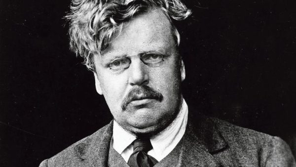 G.K. Chesterton—a good read during August