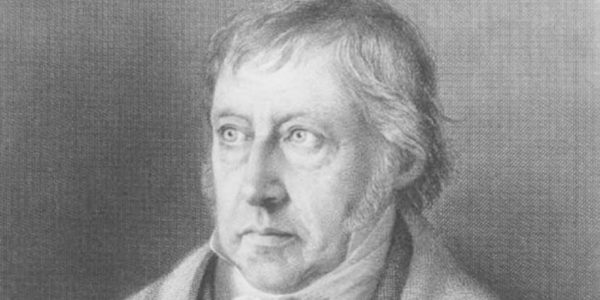 G. W. F. Hegel a philosopher to read and not understand, especially during August