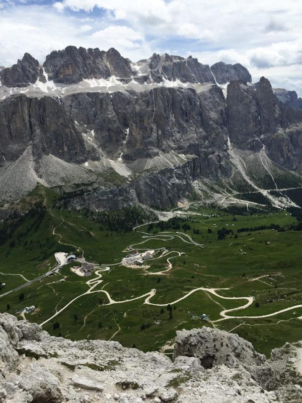 Dolomites—where Geronimo and Carlo travel