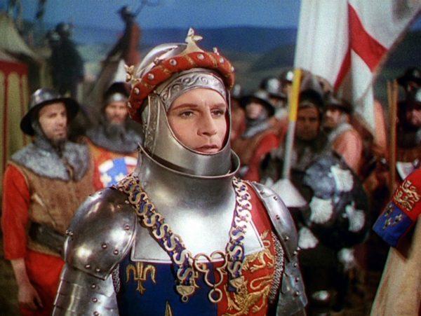 Henry V (1944) before he attacks France.