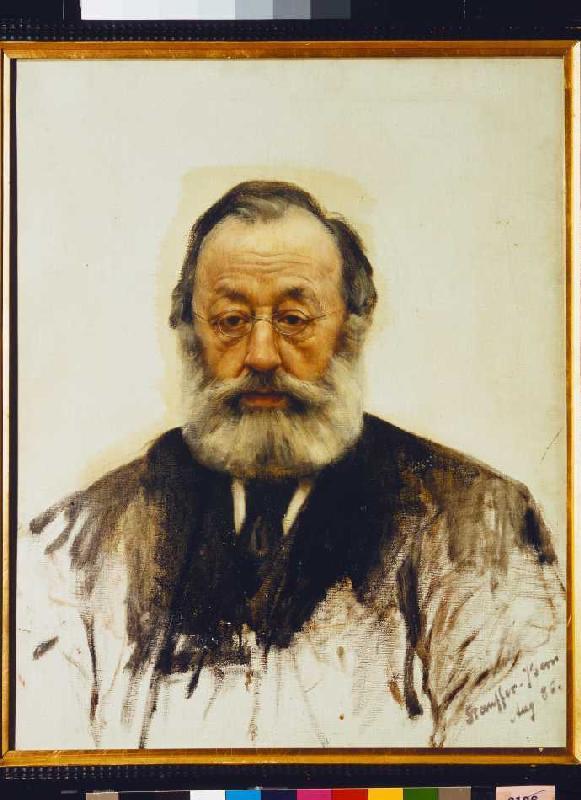 "Gottfried Keller, writer of ""The Little Dance Legend"""