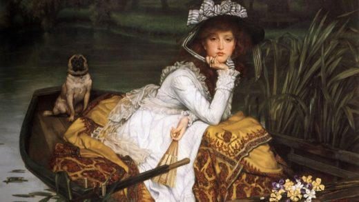 Tissot, Young Lady in a Boat