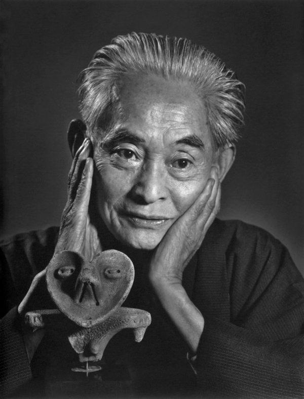 Photograph of Japanese writer Yasunari Kawabata, short story writer
