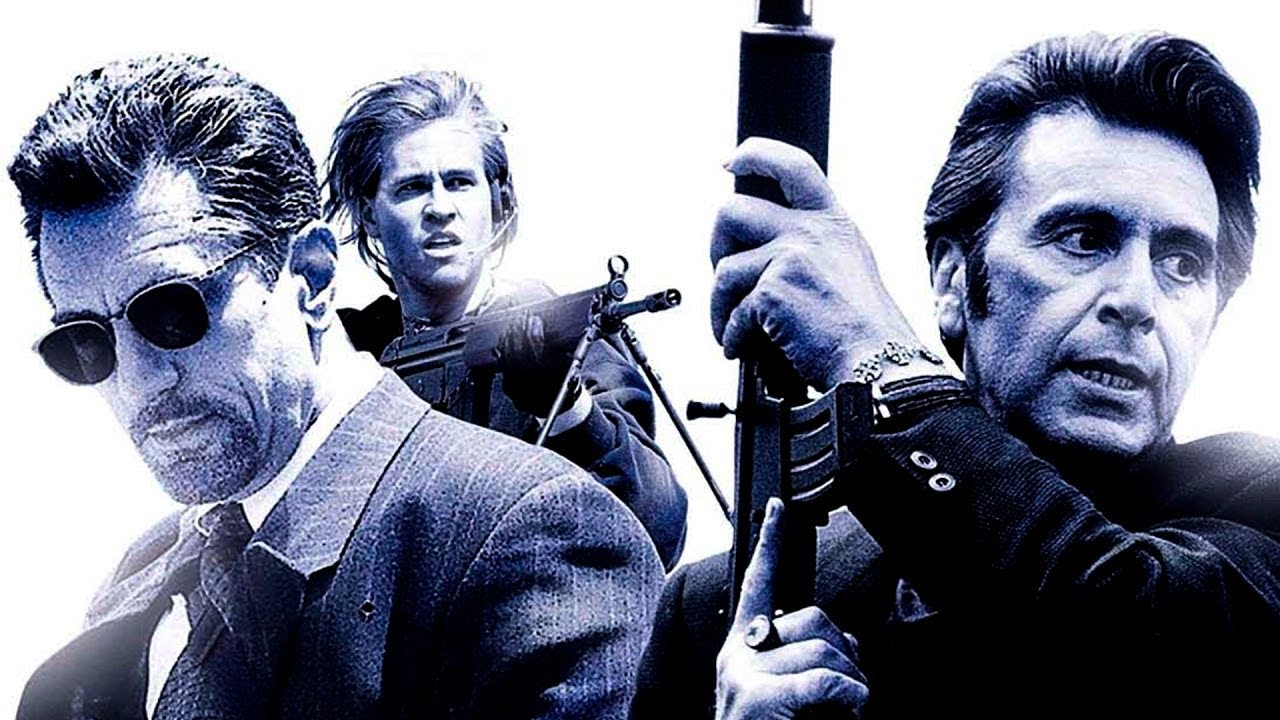 On its best day Marauders is not even a distant relative of Michael Mann's 1995 film Heat.