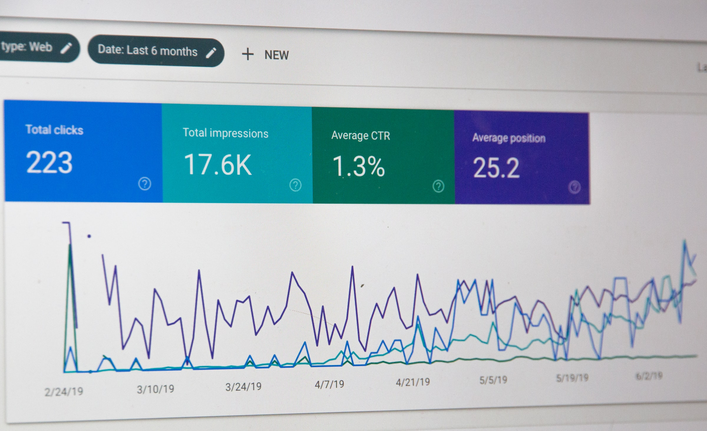 Google Search Console data, not how to edit