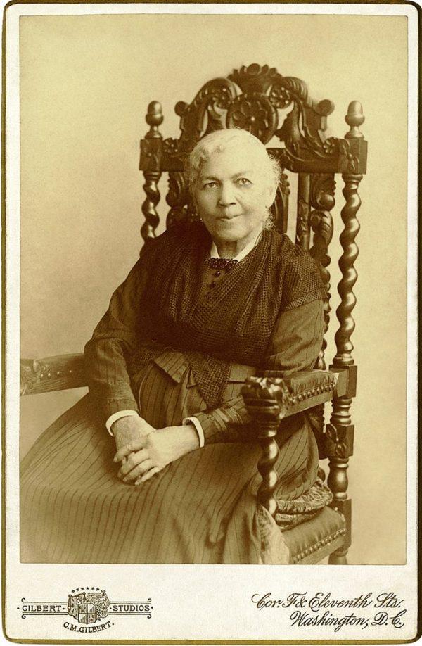 Image of Harriet Jacobs, taken in 1894.