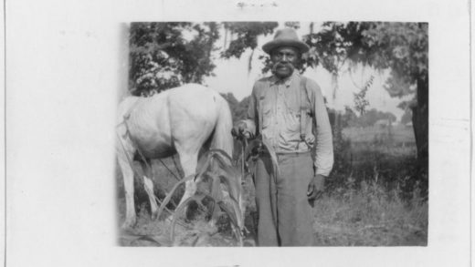 Abe Livingstone, an ex-slave living in Beaumont, Texas