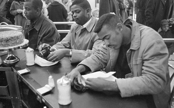 Woolworth's Sit-in in Durham, North Carolina, Feb. 10, 1960, long after Washington