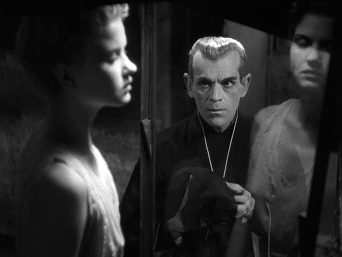Not read, but watched: The Black Cat (1936) with Boris Karloff