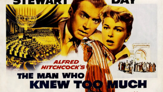 Poster for The Man Who Knew Too Much
