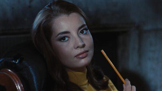 Actress Jacqueline Sassard in Accident (1967)