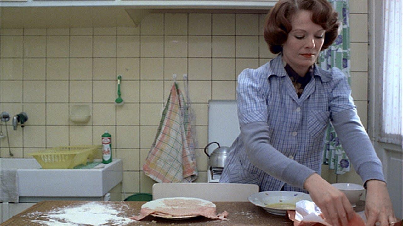 Still from 1975 film Jeanne Dielman, 23 quai du Commerce, 1080 Bruxelles