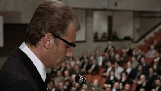Gian Maria Volonté plays Enrico Mattei in The Matteir Affair (1972), a film I watched during April