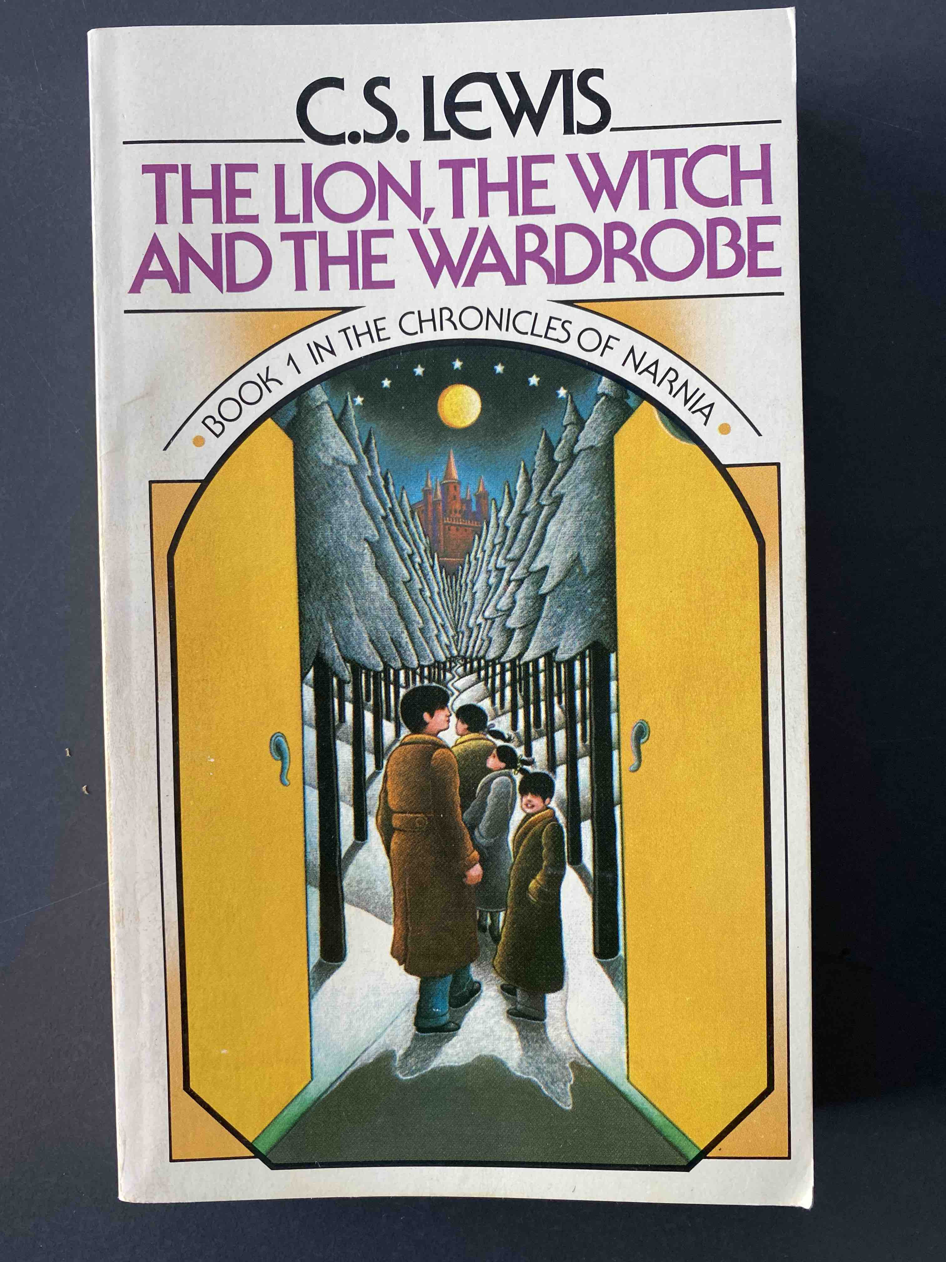 C.S. Lewis, The Lion, the Witch, and the Wardrobe. Front cover