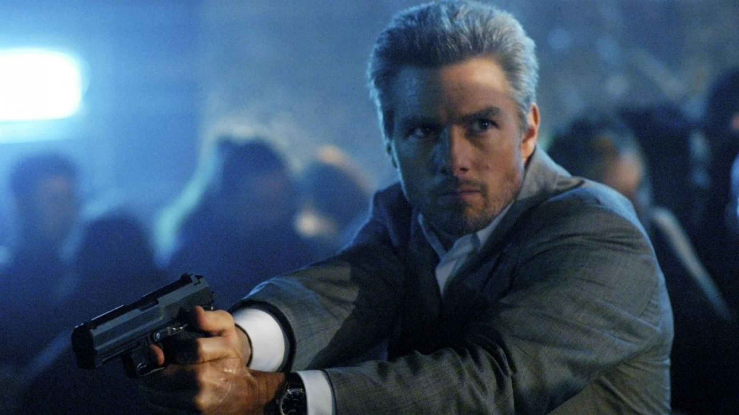 Tom Cruise in the 2004 Michael Mann film Collateral