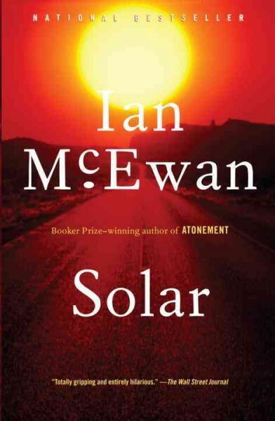 Solar was published in 2010 by the British novelist Ian McEwan