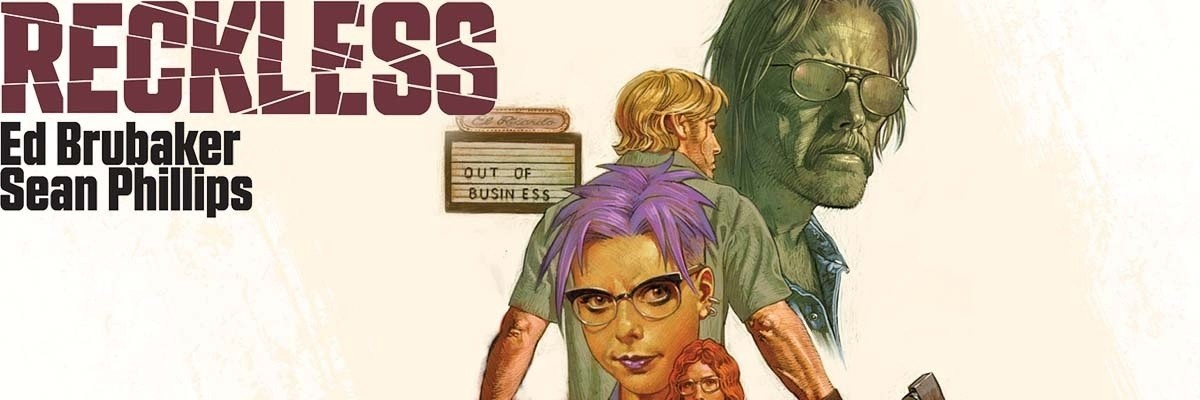 Reckless is a graphic novel by Ed Brubaker and Sean Phillips that I read in those early carefree days of May.