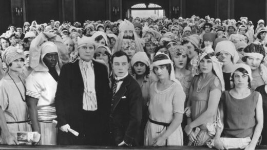 Still from Seven Chances (1925), Buster Keaton film on the dangers of wedlock