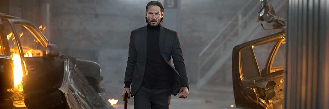 One of the final scene of John Wick (2014), when the title character finally exacts his revenge, unventfully.
