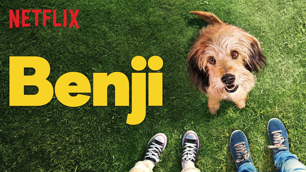 Promotional image for the 2018 Netflix film Benji
