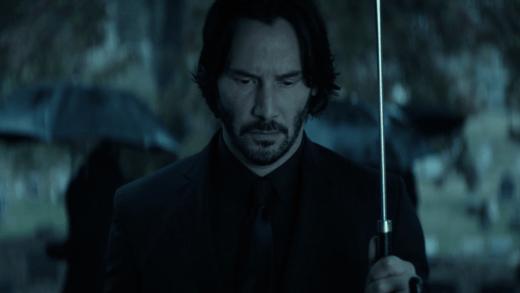 Still from an early scene in John Wick (2014)