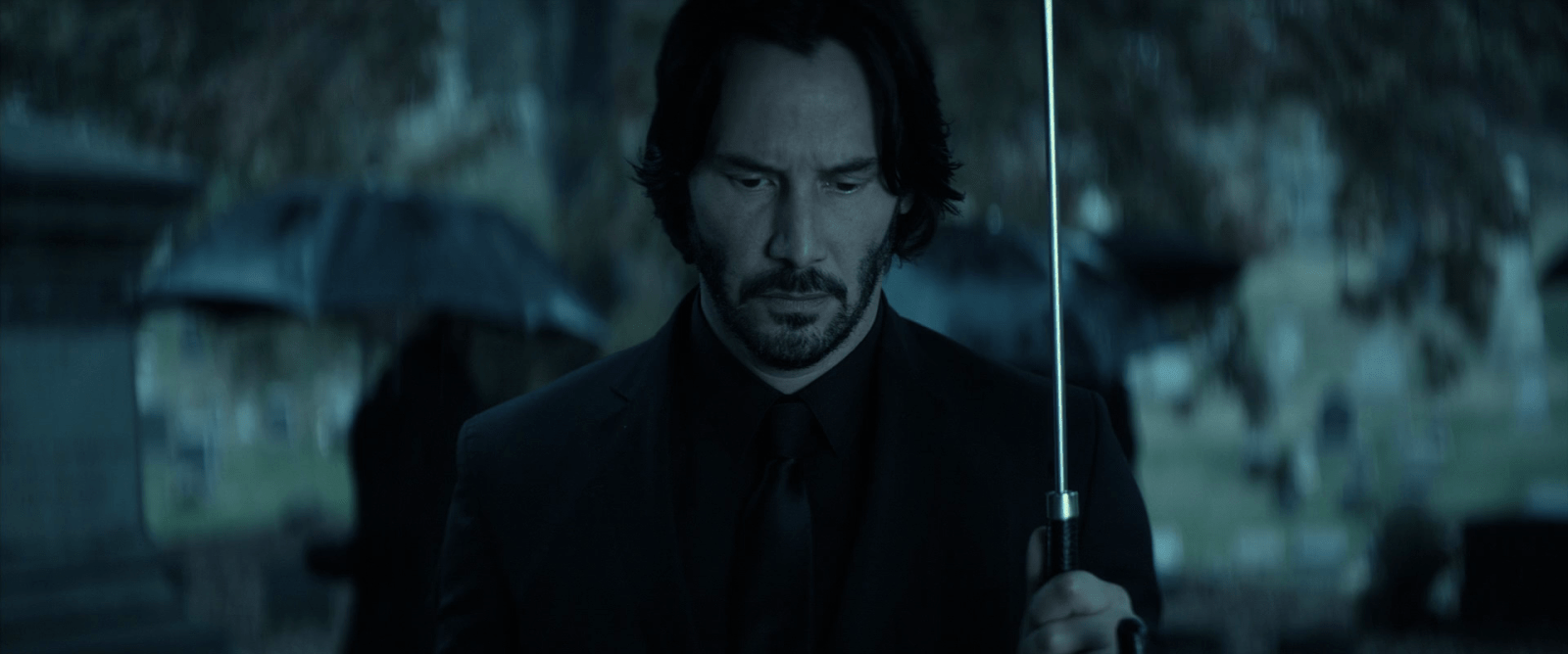 An emotional condition motivating John Wick (2014): insuperable grief.