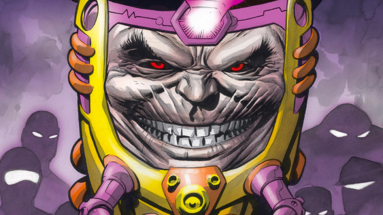 M.O.D.O.K., a character from the Marvel Universe