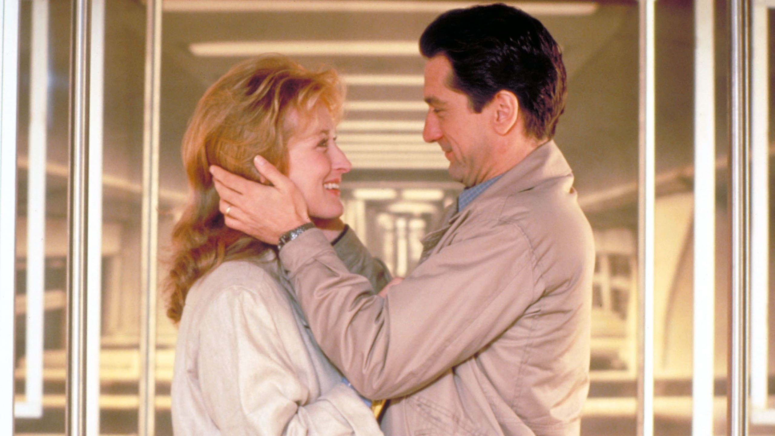 Still from the 1984 film Falling In Love, starring Robert DeNiro and Meryl Streep, with a noticeable dearth of charm.
