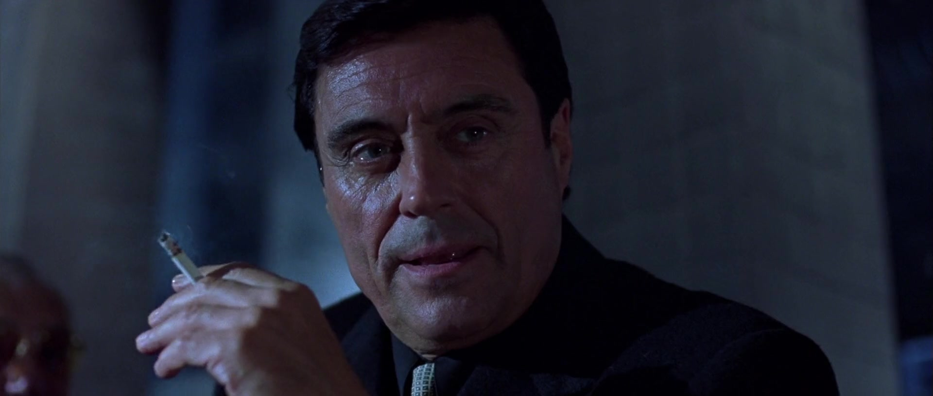 Ian McShane in a still from the 2000 film Sexy Beast, directed by Jonathan Glazer and also starring Ray Winstone and Ben Kingsley