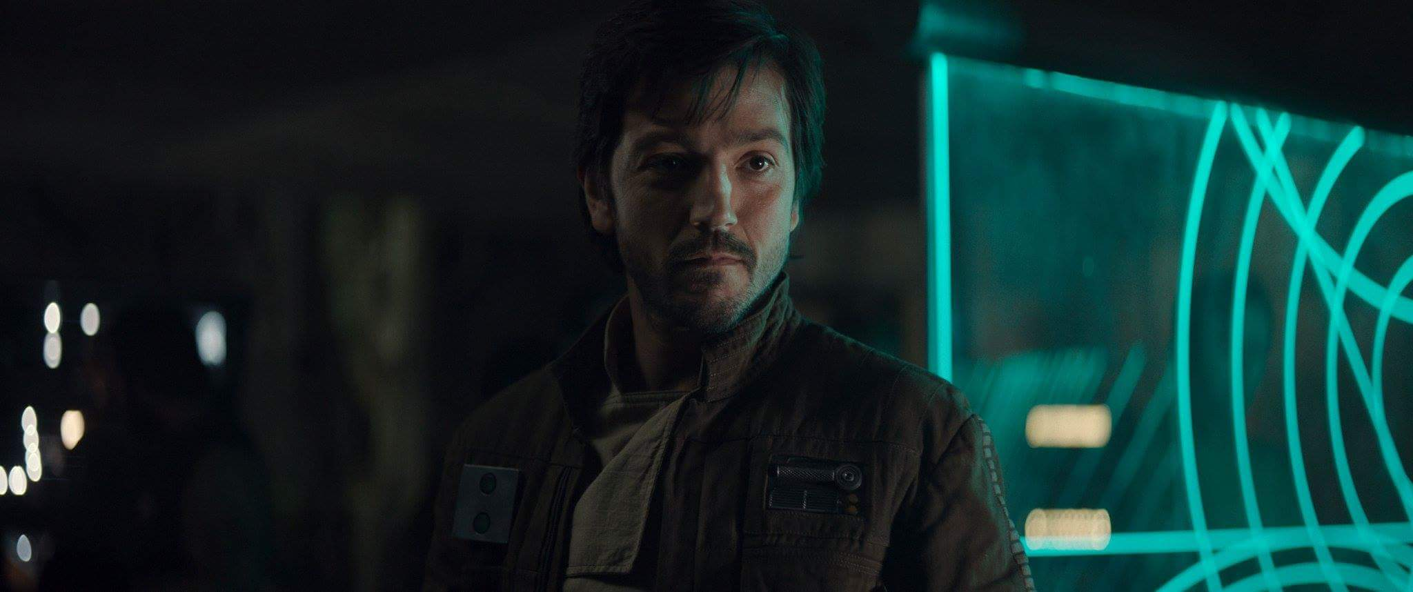 Diego Luna as Cassian Andor in the 2016 film Rogue One, to my mind the only truly successful Star Wars film.