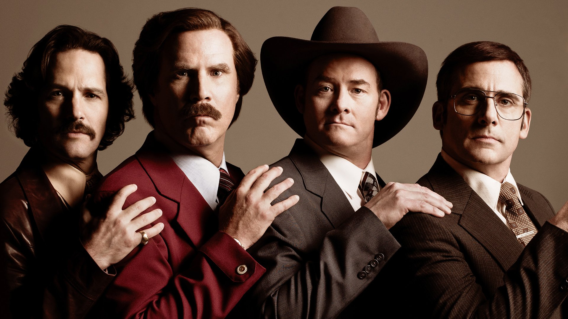 Promotional image for Anchorman: The Legend of Ron Burgundy (2004)